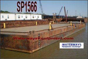 SP1566 - 140' x 48' x 9' SPUD BARGE