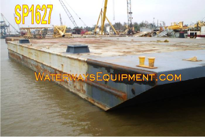 SP1627 - 150' x 60' x 12.5' SPUD BARGE