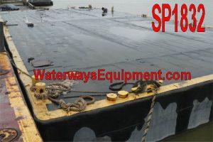 SP1832 - 100' x 45' x 6.67' SPUD BARGE