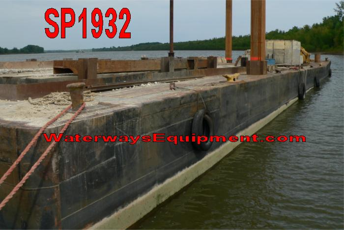 SP1932 - 135' x 35' x 8' SPUD BARGE