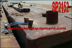 SP2152 - 120' x 30' x 7' SPUD BARGE