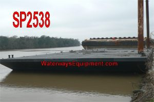 SP2538 - 135' x 55' x 7' SPUD BARGE