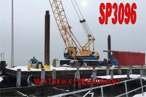 SP3096 - 90' x 30' x 9.5' SPUD BARGE