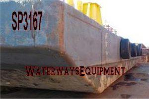 SP3167 - 110' x 50' x 7' SPUD BARGE