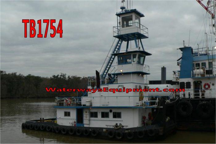 TB1754 - 1400 HP PUSH BOAT