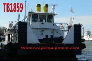 TB1859 - 4200 HP RETRACTABLE TOWBOAT