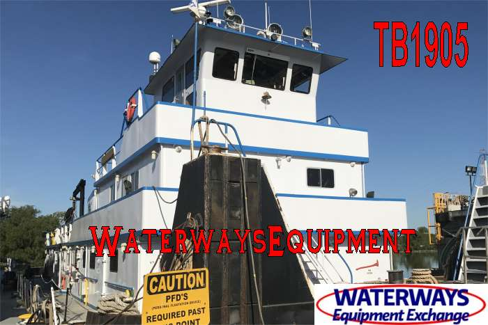 TB1905 - 3300 HP TOWBOAT