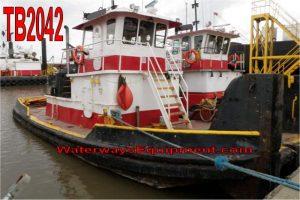 TB2042 - 550 HP PUSH BOAT