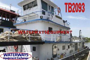 TB2093 - 2600 HP TOWBOAT