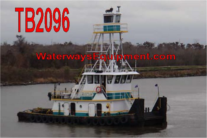TB2096 - 1200 HP TOWBOAT
