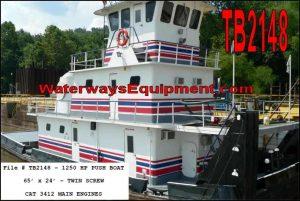 TB2148 - 1250 HP PUSH BOAT