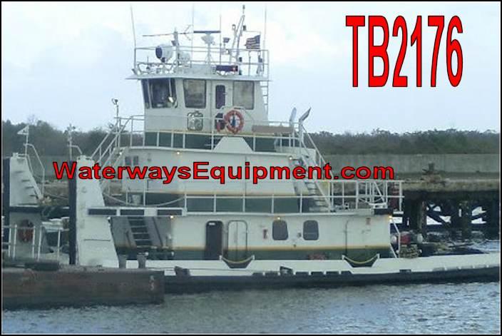 TB2176 - 800 HP PUSH BOAT