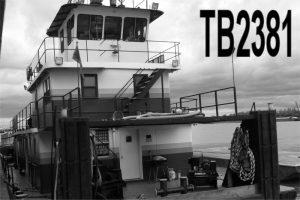 TB2381 - 2000 HP PUSH BOAT