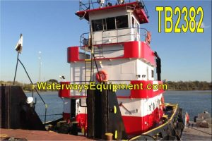 TB2382 - 1100 HP TOWBOAT