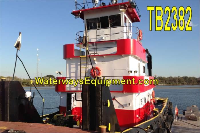 TB2382 - 1100 HP TOWBOAT