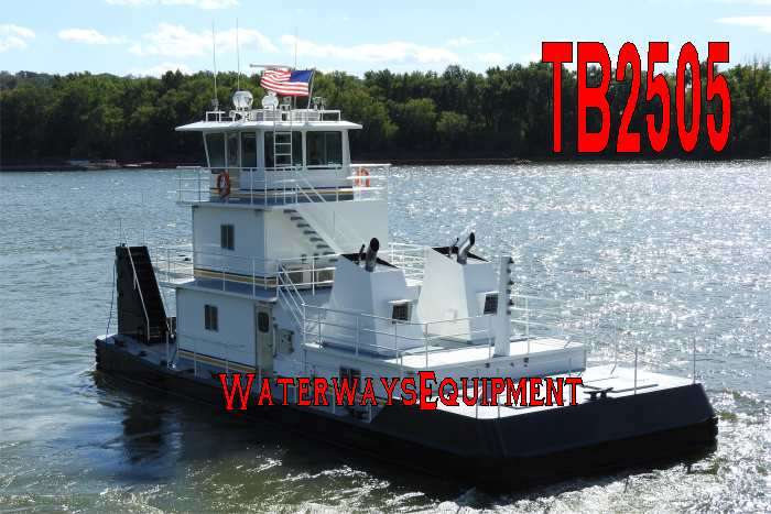 TB2505 - NEW 1500 HP PUSH BOAT