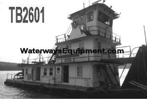 TB2601 - 1200 HP PUSH BOAT
