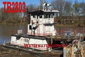 TB2803 - 850 HP PUSH BOAT