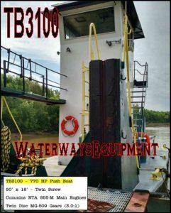 TB3100 - 770 HP PUSH BOAT