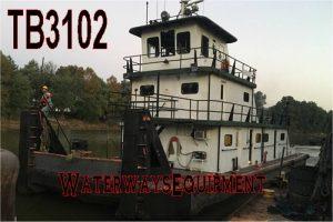 TB3102 - 1200 HP PUSH BOAT