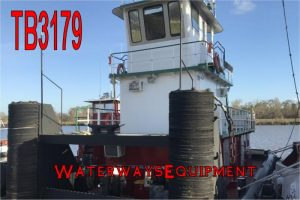 TB3179 - 800 HP PUSH BOAT