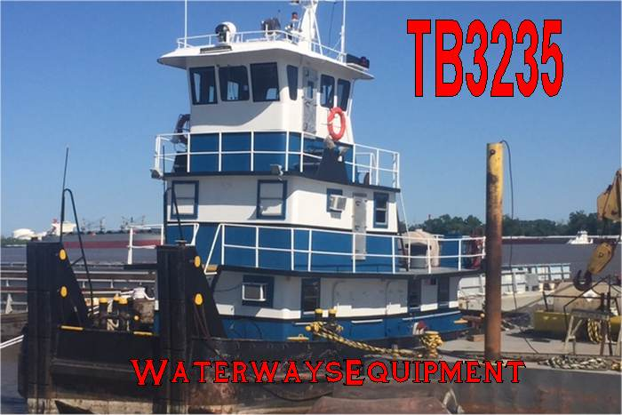TB3235 - 600 HP PUSH BOAT