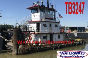 TB3247 - 1000 HP PUSH BOAT