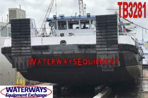 TB3281 - 3375 HP RETRACTABLE TOWBOAT
