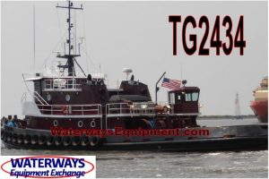 TG2434 - 3250 HP ABS OCEANGOING TUG