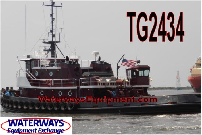 TG2434 - 3250 HP ABS OCEANGOING TUG