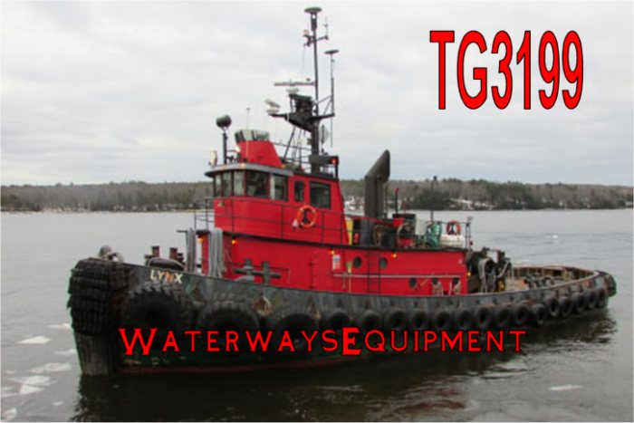 TG3199 - 1800 HP MODEL BOW TUG