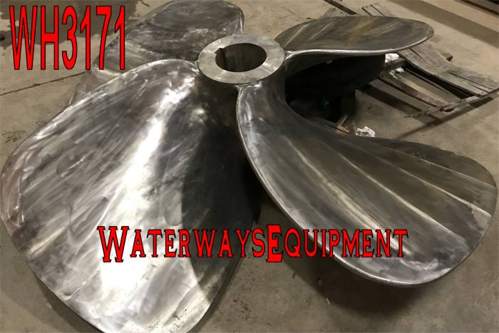"""WH3171 - RICE 80"""" X 70"""" SS PROPELLERS"""