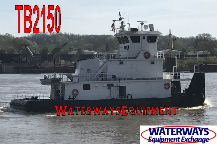 2000 HP Towboat For Sale or Charter
