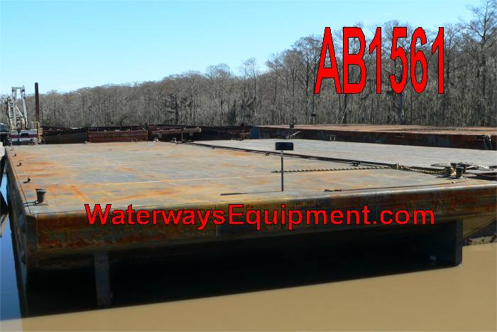 AB1561 - 190' x 60' x 12' ABS DECK BARGE