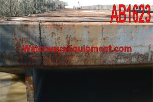 AB1623 - 250' x 72' x 16' ABS DECK BARGE