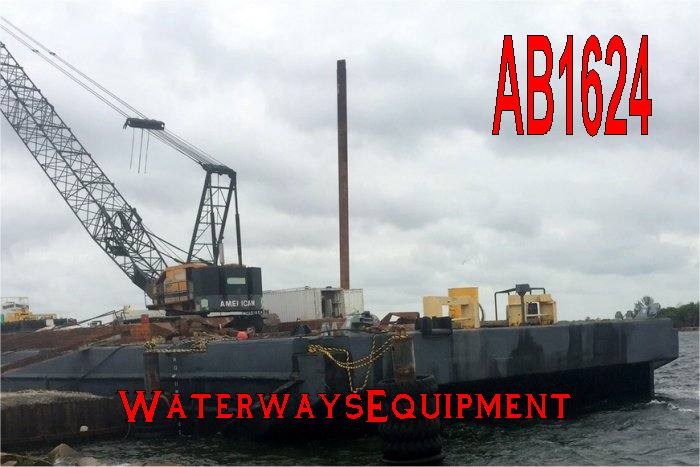 AB1624 - 250' x 72' x 16' ABS CLASS DECK BARGE