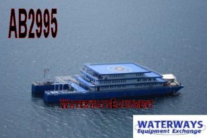 AB2995 - 370' x 85' x 24' 150 PERSON ACCOMMODATIONS BARGE