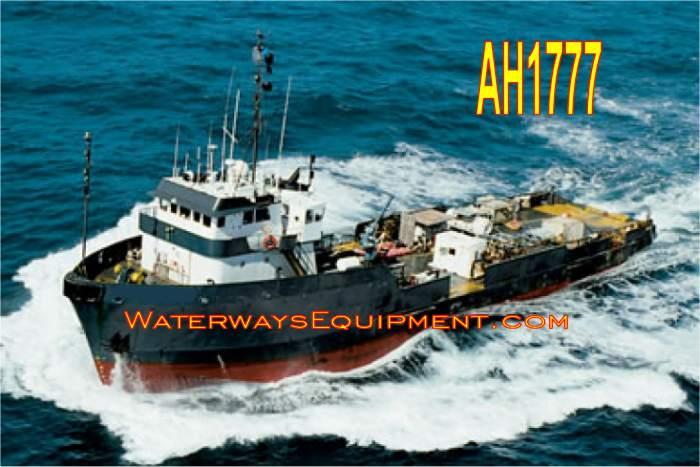 AH1777 - 180' x 38' x 14' 3,000 HP ANCHOR TUG