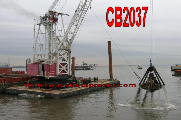 CB2037 - AMERICAN FLOATING CRANE