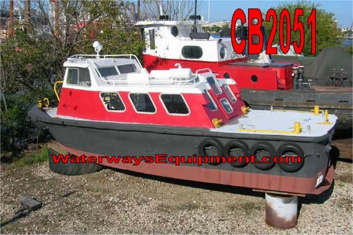 CB2051 - 31' x 10.5' x 6' 300 HP CREW BOAT