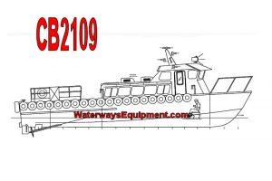 "CB2109 - 49'-3"" x 15' 27 PASSENGER CREW BOAT"