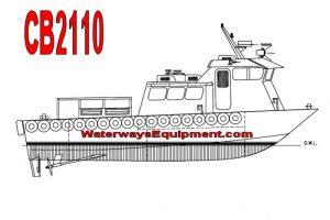 CB2110 - 45' x 14' 14 PASSENGER CREW BOAT
