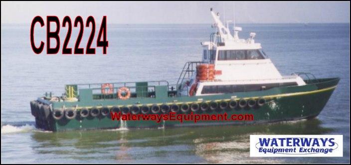 CB2224 - 65' ALUMINUM CREW BOAT