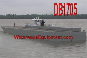 DB1705 - 195' x 35' x 10.5' NEW MATERIAL BARGE