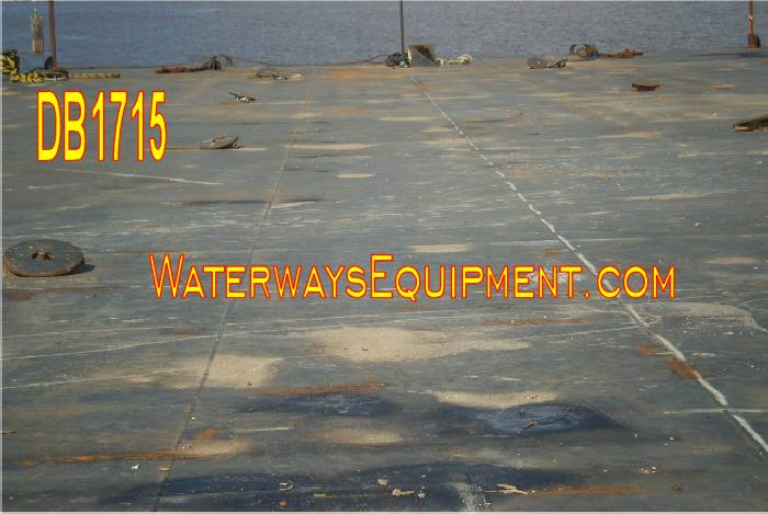 DB1715 - 220' x 60' x 14' ABS DECK BARGE
