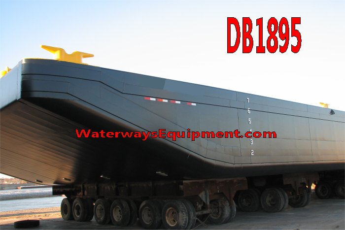DB1895 - NEW 150' x 40' x 8' DECK BARGE