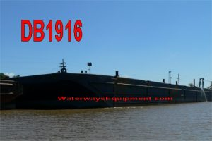 DB1916 - 300' x 100' x 18' ABS DECK BARGE