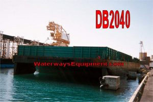 DB2040 - 340' x 78' x 19' ABS DECK BARGE FOR CHARTER