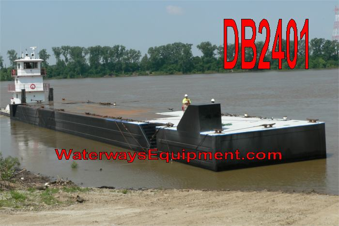 175' x 26' x 8' DOCK BARGE