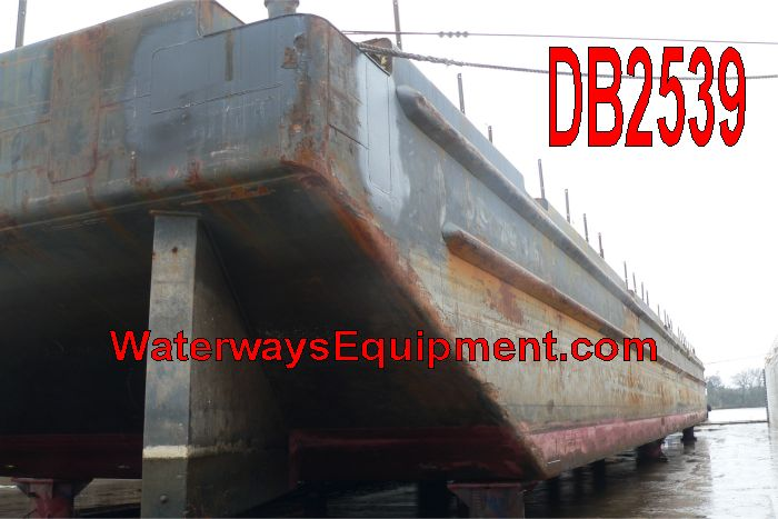 DB2539 - 250' x 72' x 16' ABS DECK BARGE